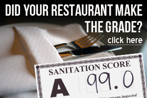 Did your favorite restaurant make the grade?  Find Out!